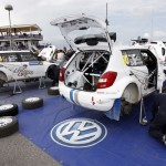 Neste Oil Rally Finland 2011: VW service park