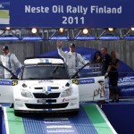 Neste Oil Rally Finland 2011: Mikkelsen/Floene