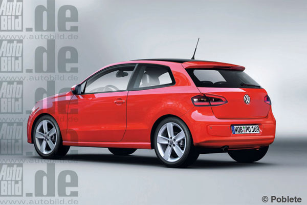 2013 Volkswagen Polo facelift (Source: Auto Bild)