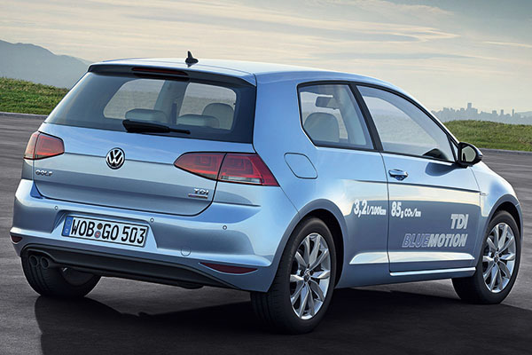 2013 Volkswagen Golf BlueMotion
