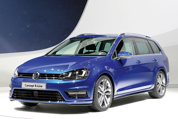 2013 Volkswagen Golf Estate Concept R-Line