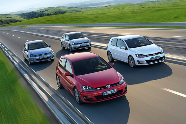 2013 Volkswagen Golf BlueMotion, GTI and GTD