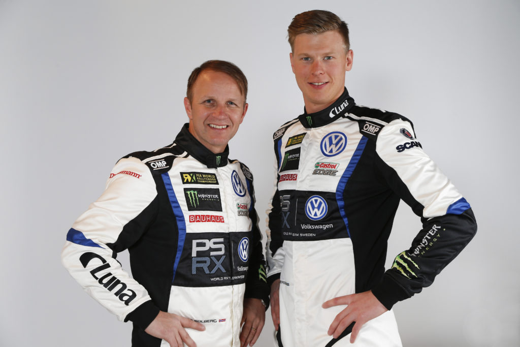 Petter Solberg and Johan Kristoffersson, PSRX Volkswagen Sweden